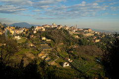 Colline di Bergamo Fotografia Stock