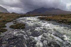Colline di Cullin - isola di Skye - la Scozia Immagine Stock