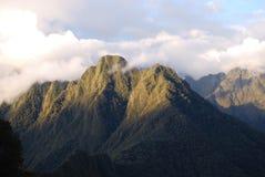 Colline di Huinay Huayna immagini stock libere da diritti