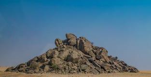 Colline di roccia Fotografie Stock