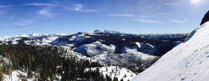 Colline di Snowy Immagine Stock