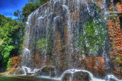 Colline du Chateau waterfall Stock Images