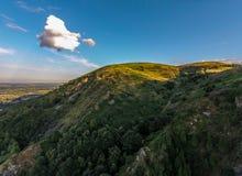 Colline du nord, collines de Malvern Images stock