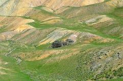 Colline e montagne Immagini Stock Libere da Diritti