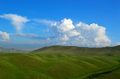Colline e montagne Fotografie Stock