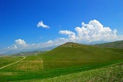 Colline e montagne Fotografia Stock Libera da Diritti