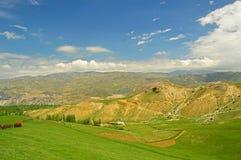 Colline e montagne Fotografia Stock