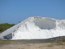Colline naturelle de sel de mer de purée Photos libres de droits