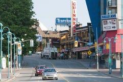 Colline Niagara de Clifton Images stock