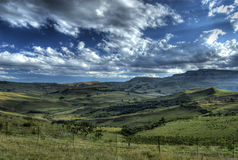 Colline pedemontana di Drakensberg Fotografia Stock Libera da Diritti
