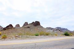Colline rocciose dell'Arizona Immagini Stock