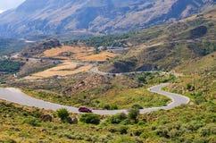 Colline sull'isola di Creta, Grecia Immagine Stock Libera da Diritti