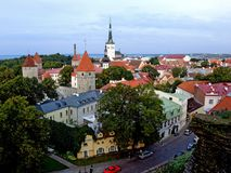 Colline Tallinn de Toompea Photo libre de droits
