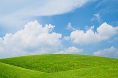 Colline verdi di rotolamento fotografia stock