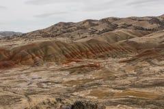 Colline verniciate Oregon fotografie stock