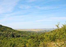 Collines chez Ghioroc Arad Romania photo stock