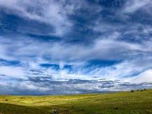 Collines de Boise, Idaho au printemps Photos stock