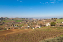 Collines de Cesena photos libres de droits