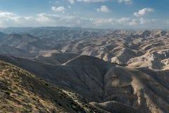 Collines de désert Photo stock