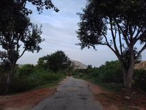 Collines de Horsley, Chittoor, Andhra Pradesh images stock
