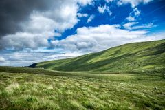 Collines de l'Irlande, Wicklow - 3 Images libres de droits