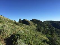 Collines de montagne Images libres de droits