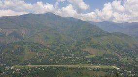 Collines de Muzafarabad Photos libres de droits