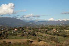 Collines de Sabina, Latium, Italie Images libres de droits