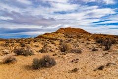 Collines de sable de l'Utah image libre de droits
