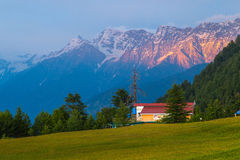 Collines de Shogran Photographie stock