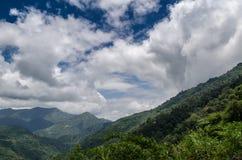 Collines et montagnes Photographie stock