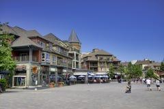 COLLINGWOOD, SOPRA, IL CANADA - 20 LUGLIO 2017: Vista di alloggio e dello sho Fotografia Stock
