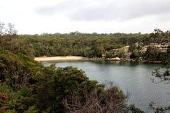 Collins Beach vårliten vik Arkivfoton