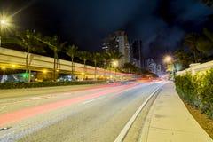 Collins Miami plaża Zdjęcia Royalty Free