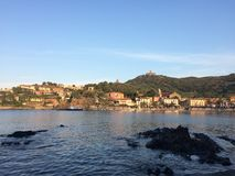 Collioure Γαλλία Στοκ φωτογραφία με δικαίωμα ελεύθερης χρήσης