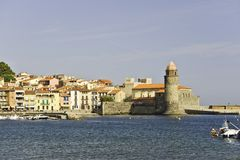 Collioure photographie stock libre de droits
