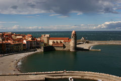 Collioure Royalty Free Stock Photos