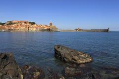 Collioure 免版税库存图片