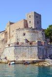 Collioure, Γαλλία Στοκ εικόνες με δικαίωμα ελεύθερης χρήσης
