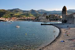 Collioure Photo libre de droits