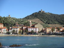 Collioure Photographie stock