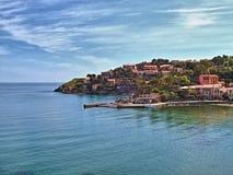 Collioure - Catalaans Frankrijk Royalty-vrije Stock Fotografie