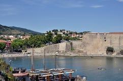 Collioure em France Fotografia de Stock Royalty Free