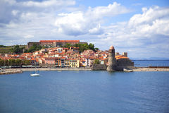 Collioure in France Stock Images