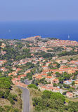 Collioure, France. View of Collioure, Vermilion coast, France royalty free stock photo