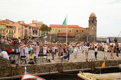 Collioure, France photographie stock