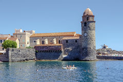 Collioure, France Photos stock