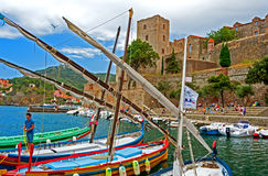 Collioure, France Royalty Free Stock Image