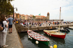Collioure France Stock Images