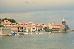 Collioure in France Royalty Free Stock Image